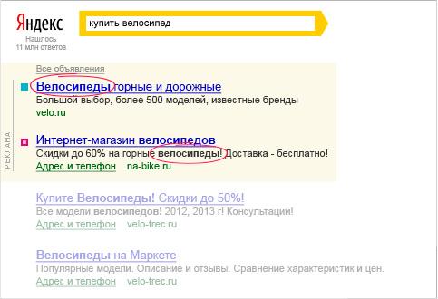 На каких сайтах реклама яндекс директ